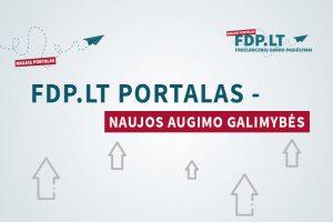 FDP.LT portalas – naujos augimo galimybės